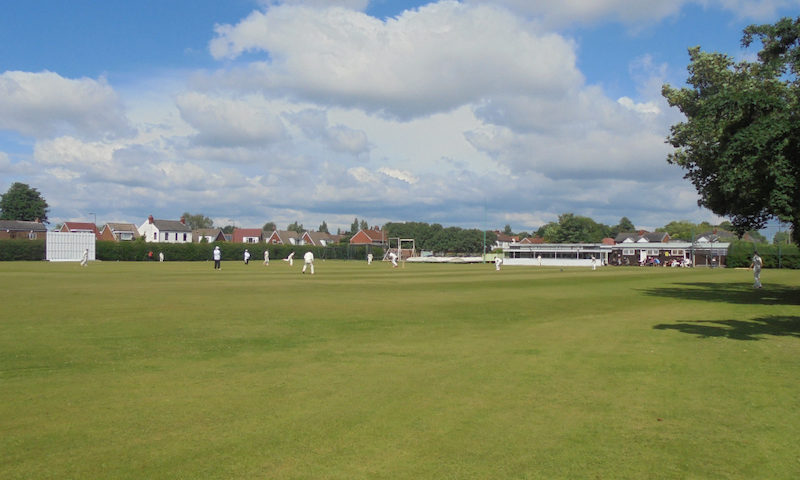 Fun Cricket Match at Flixton CC on Sunday, 10th May 2020